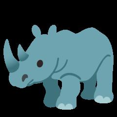 Rinoceronte Emoji Google Android, Chromebook