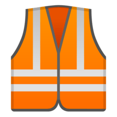 Safety Vest Emoji on Google Android and Chromebooks