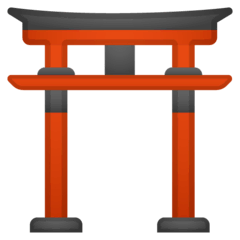 Sanctuaire shinto Émoji Google Android, Chromebook