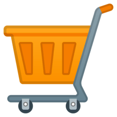 Shopping Cart Emoji on Google Android and Chromebooks