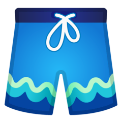 Shorts Emoji on Google Android and Chromebooks