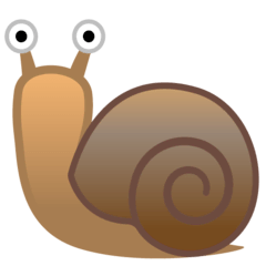 Escargot Émoji Google Android, Chromebook