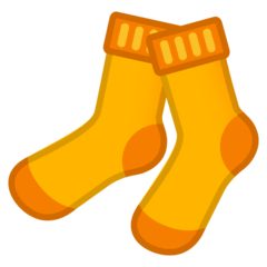 Socks Emoji on Google Android and Chromebooks