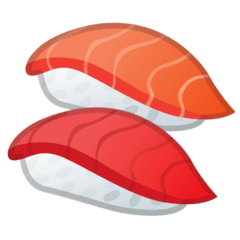 Sushi Emoji on Google Android and Chromebooks