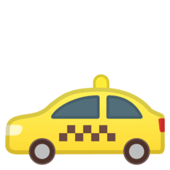 Taxi Emoji on Google Android and Chromebooks