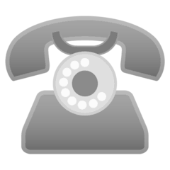 Telephone Emoji on Google Android and Chromebooks