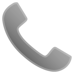 Telephone Receiver Emoji on Google Android and Chromebooks