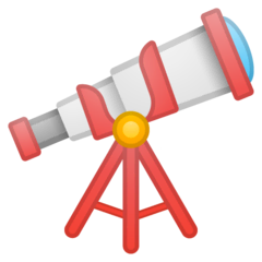 Telescope Emoji on Google Android and Chromebooks