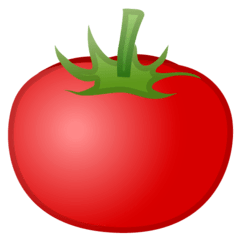 Tomato Emoji on Google Android and Chromebooks