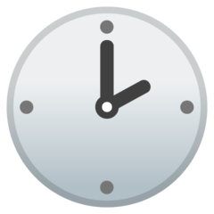 Two O'clock Emoji on Google Android and Chromebooks