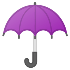 Umbrella Emoji on Google Android and Chromebooks