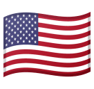 Flag: United States Emoji on Google Android and Chromebooks