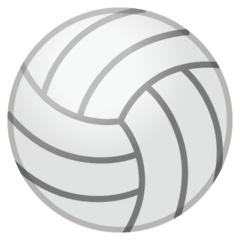 Volleyball Emoji Google Android, Chromebook