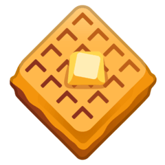 Gaufre Émoji Google Android, Chromebook