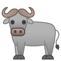 Water Buffalo Emoji on Google Android and Chromebooks