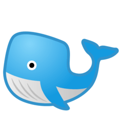 Whale Emoji on Google Android and Chromebooks