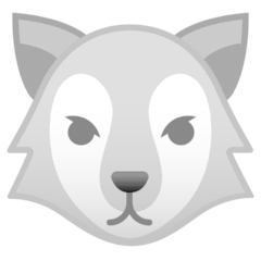 Loup Émoji Google Android, Chromebook