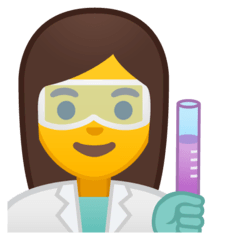Woman Scientist Emoji on Google Android and Chromebooks