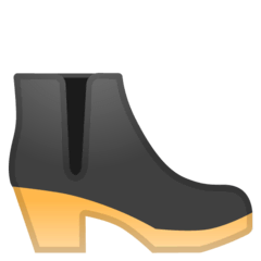 Woman's Boot Emoji on Google Android and Chromebooks