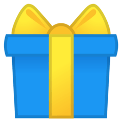 Wrapped Gift Emoji on Google Android and Chromebooks