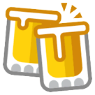 Clinking Beer Mugs Emoji on HTC Phones