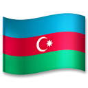 Flag: Azerbaijan Emoji on LG Phones
