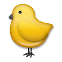Baby Chick Emoji on LG Phones