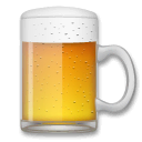 Beer Mug Emoji on LG Phones