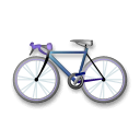 Bicycle Emoji on LG Phones