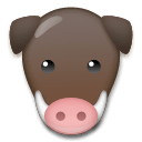 Boar Emoji on LG Phones