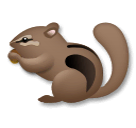Chipmunk Emoji on LG Phones
