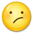 Confused Face Emoji on LG Phones