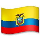 Bandeira do Equador Emoji LG