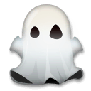 Ghost Emoji on LG Phones