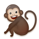 Monkey Emoji on LG Phones