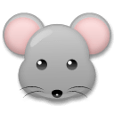 Mouse Face Emoji on LG Phones