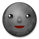 New Moon Face Emoji on LG Phones