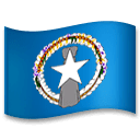 Flag: Northern Mariana Islands Emoji on LG Phones