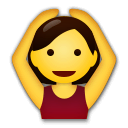 Person Gesturing OK Emoji on LG Phones
