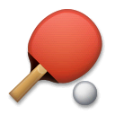 Ping Pong Emoji on LG Phones