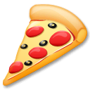 Pizza Emoji on LG Phones
