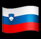 Флаг Словении Эмодзи на телефонах LG