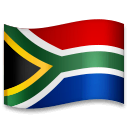 Flag: South Africa Emoji on LG Phones