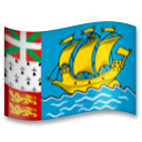 Flag: St. Pierre & Miquelon Emoji on LG Phones