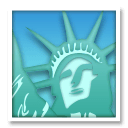 Statue of Liberty Emoji on LG Phones
