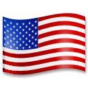 Flag: United States Emoji on LG Phones
