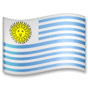 Flag: Uruguay Emoji on LG Phones