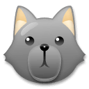 Wolf Emoji on LG Phones