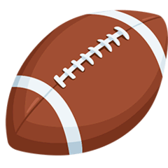 American Football Emoji Messenger