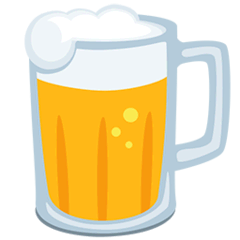 Beer Mug Emoji in Messenger